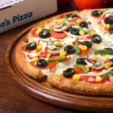yemek: dominos pizza kalori değerleri [7]