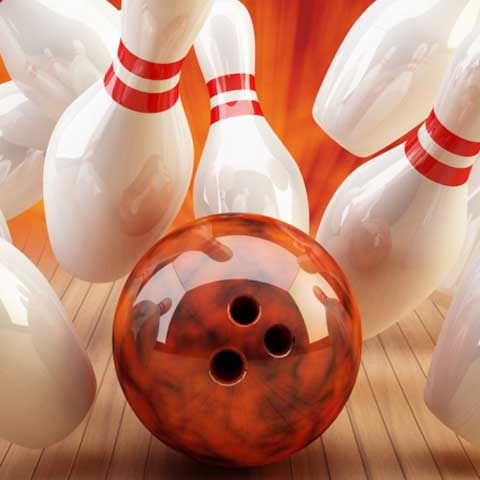 Bowling, indoor, bowling alley