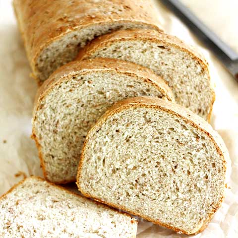 Bread, cracked-wheat