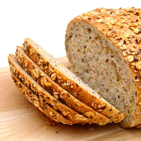 Bread, multi-grain (includes whole-grain)