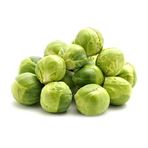Brussels sprouts, cooked, boiled, drained, without salt