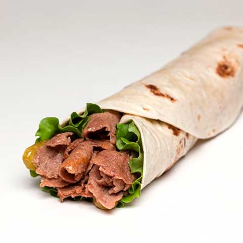 Rolled Meat Doner Kebab