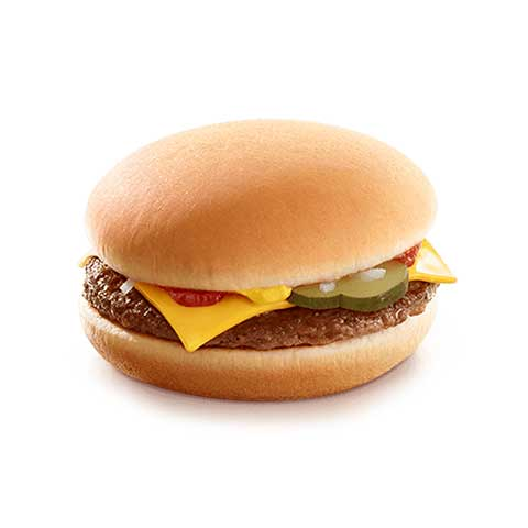 McDONALD'S, Cheeseburger