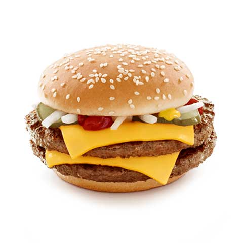 McDONALD'S, QUARTER POUNDER with Cheese