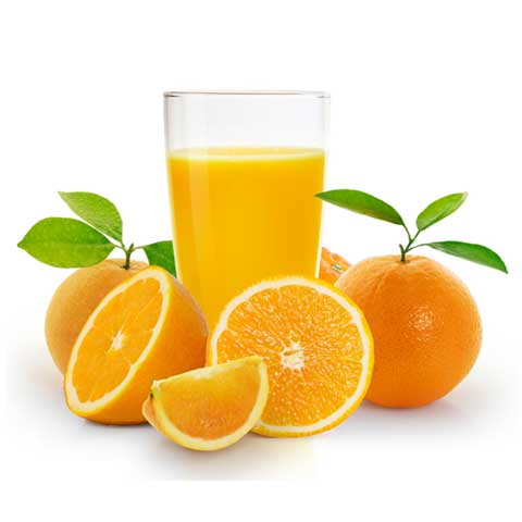 Orange juice, raw