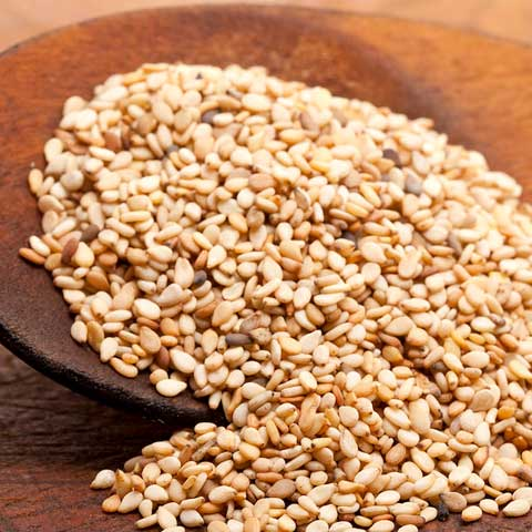 Seeds, sesame seeds, whole, dried