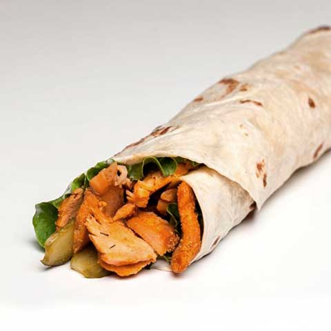 Calories In Rolled Chicken Doner Kebab Caloriesta