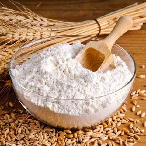 Wheat flour, white, all-purpose, enriched, bleached